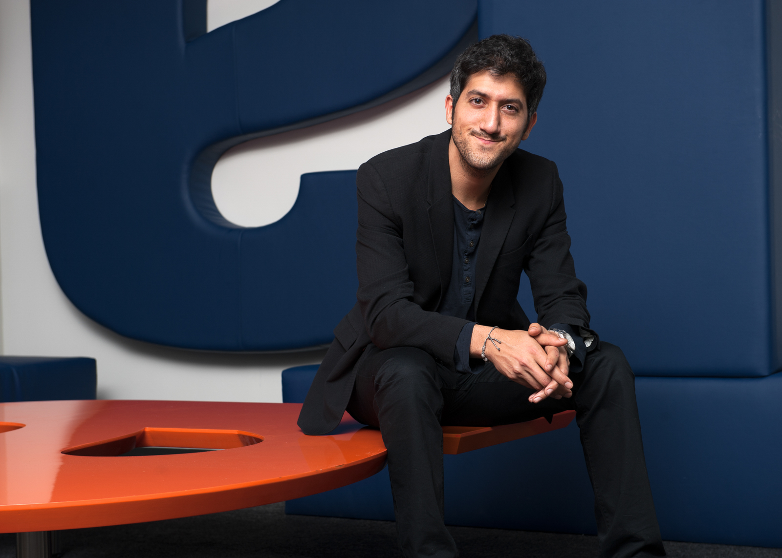 Color portrait of Adam Singolda, CEO and Founder of Taboola Inc in New York City