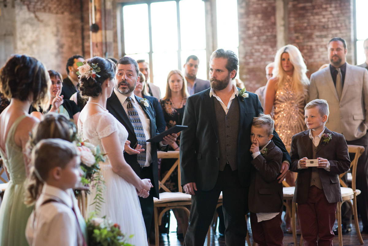 Jackey and John Wedding 2017 Greenpoint Loft, Brooklyn, New York