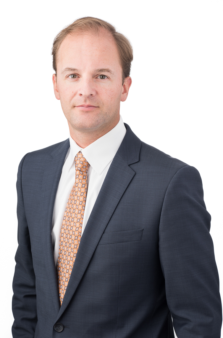 Business headshot of Charles Koprchinski, for financial firm, Fiera Capital, New York City