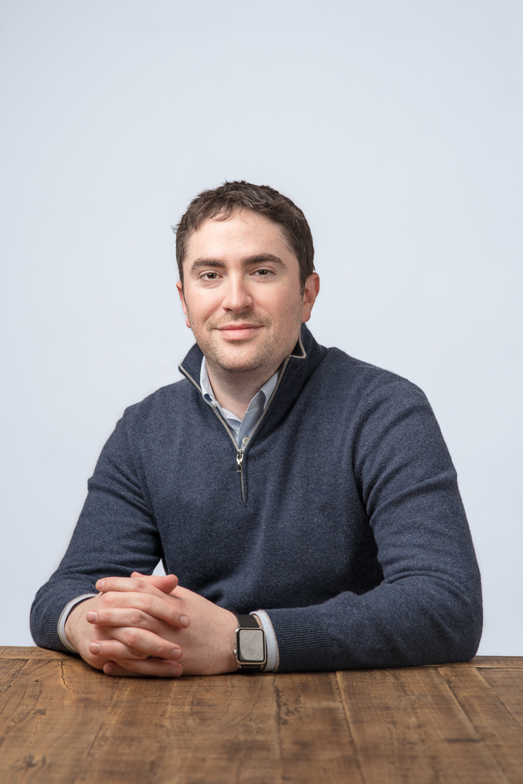 Headshot of Michael Katz, Co-Founder and  Ceo of tech startup mParticle in New York City