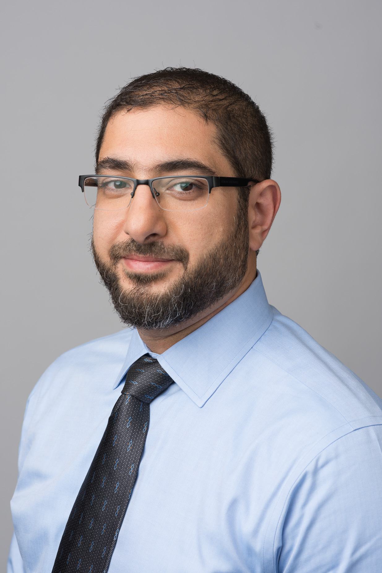 Husam Abu-Zaydeh headshot for Bank of America, Pennington, New Jersey