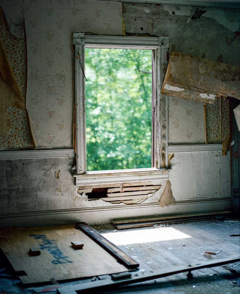 Window in Derelict House