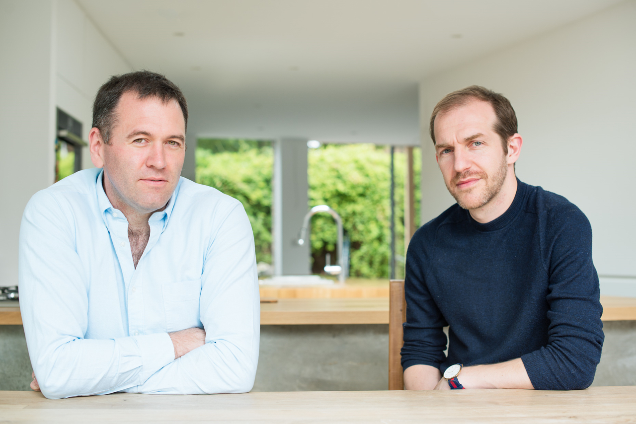 A portrait of Jim Colman and Rob of Union Architects