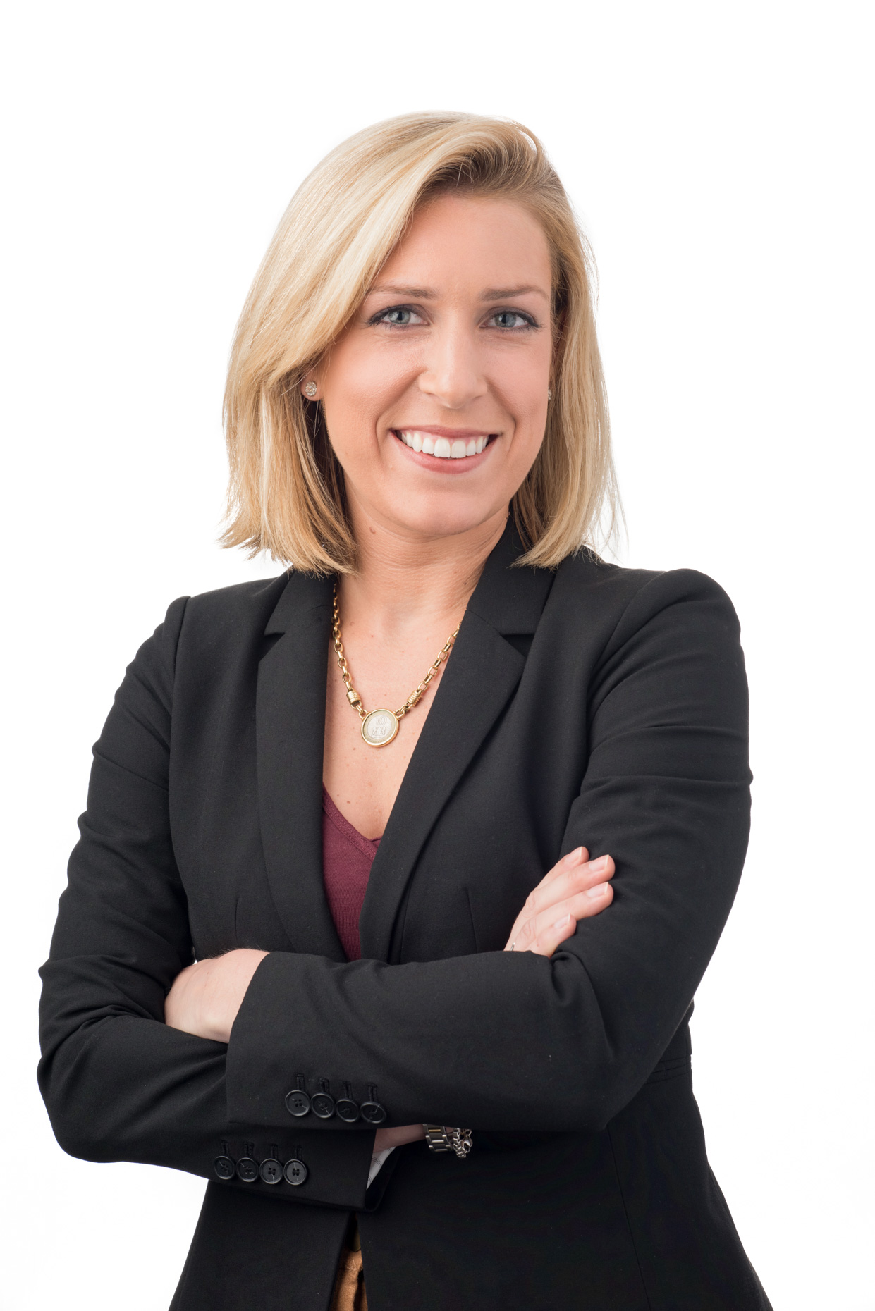A corporate portrait of Client Engagement Specialist, Jane Connolly of financial firm, Fiera Capital
